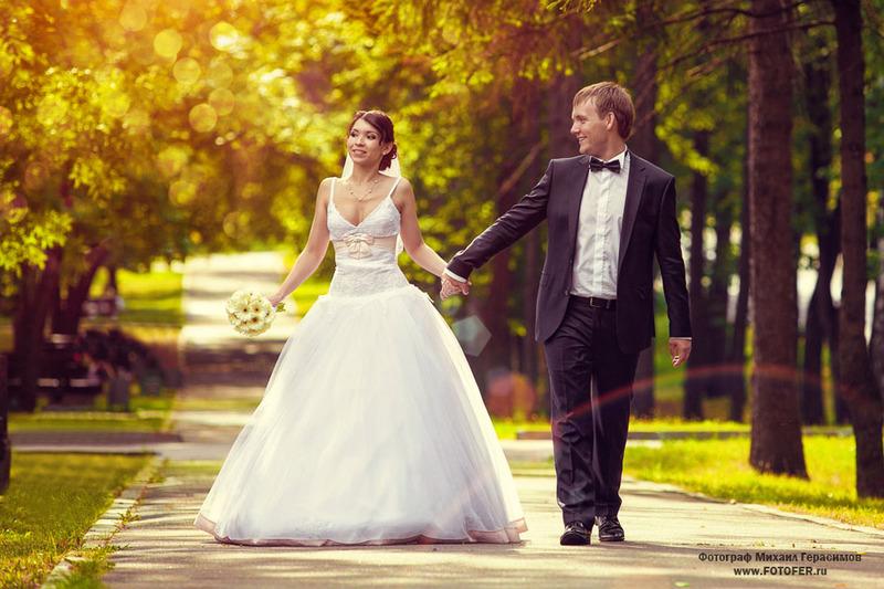 Примеры свадеб фото
